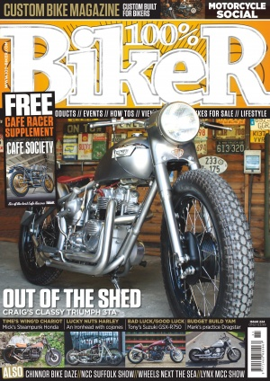 100-biker front cover issue 224
