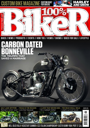 100% biker front cover issue 234