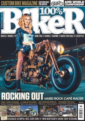 100-biker-issue 216 front cover