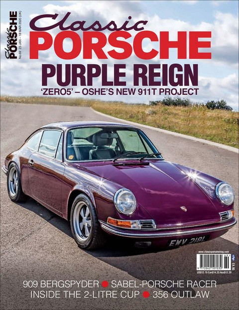 Classic Porsche Issue 69 front cover