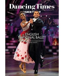 Dancing Times Dec 2020 cover