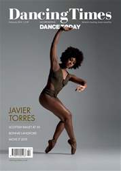 Dancing Times Feb 19 front cover