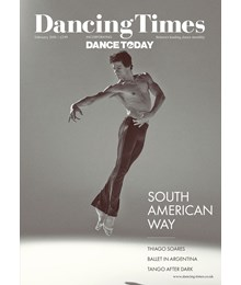 Dancing Times Front Cover February 2018
