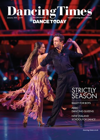 Dancing Times Front Cover January 2018
