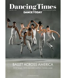 Dancing Times Front Cover June 2018