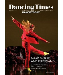 Dancing Times March 2019 front cover