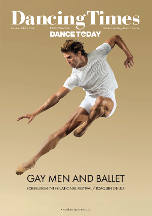Dancing Times October 2019 front cover
