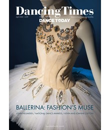 Dancing Times April 2020 front cover