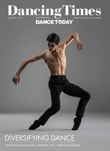 Dancing Times April 2021 front cover