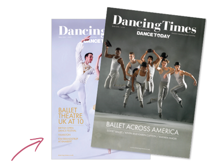 Dancing Times Magazine Covers June 2018