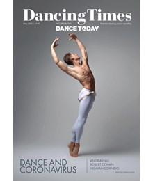 Dancing Times May 2020 front cover