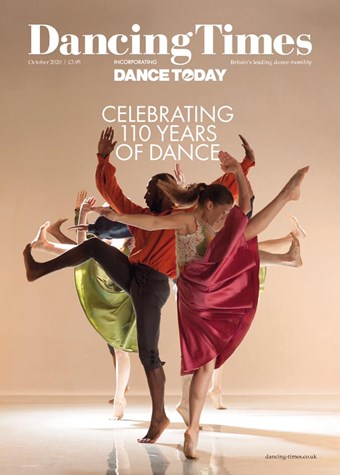 Dancing Times October 2020 front cover