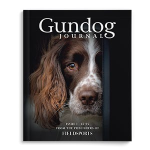 Gundog journal front cover
