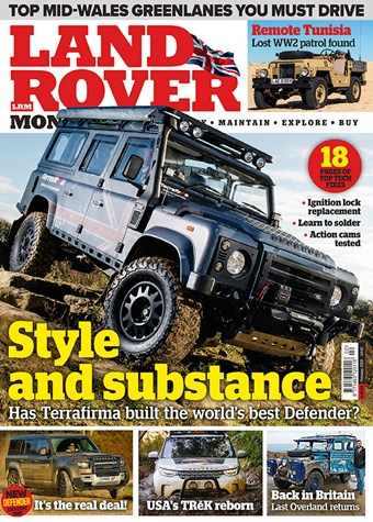 Land Rover Monthly February 2020 front cover