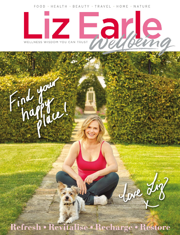 Liz Earle Wellbeing Jan Feb 2021 front cover