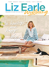 Liz Earle Wellbeing Jul Aug 2020 front cover