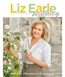 Liz Earle Wellbeing MarApr 21 issue front cover