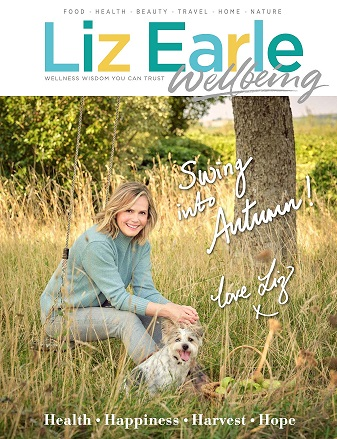 Liz Earle Wellbeing Sep Oct 2021 front cover