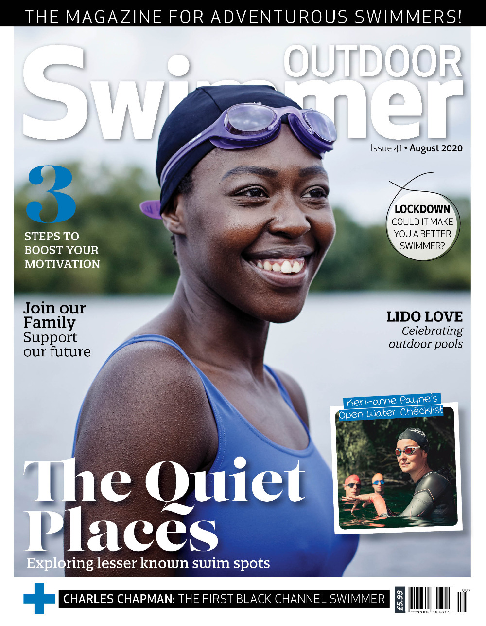 Outdoor Swimmer august 2020 front cover