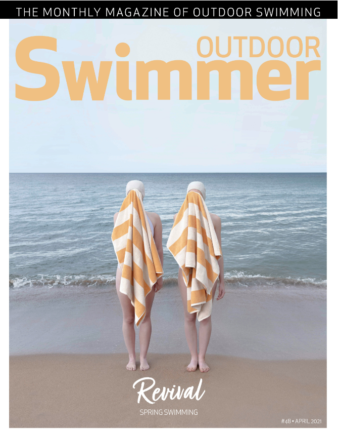 Outdoor Swimmer magazine April 2021 front cover