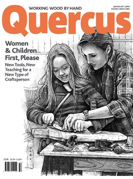 Quercus Issue 4 Jan Feb 2021 front cover