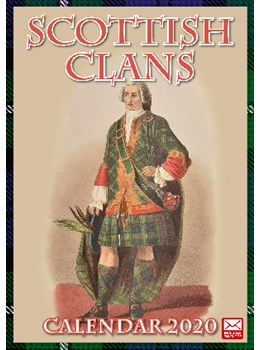 Scottish Clan Calendar 2020 front cover