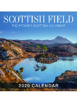 Scottish Field Large 2020 Calendar