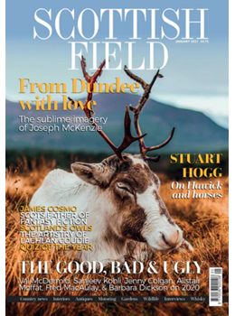 Scottish Field January 2021 front cover