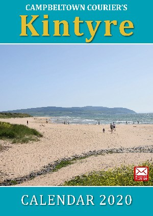 Campbeltown Courier's Kintyre 2020 Calendar front cover