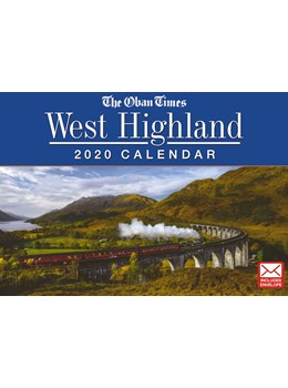 The Oban Times and West Highland 2020 Calendar front cover