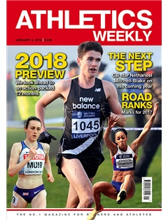 Athletics Weekly 04.01.18 front cover