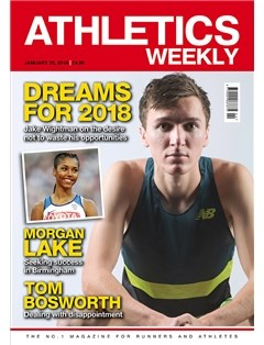 Athletics Weekly 25.01.18 front cover
