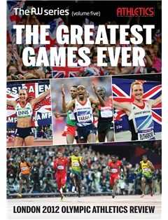 The Greatest Games Ever book from Athletics Weekly