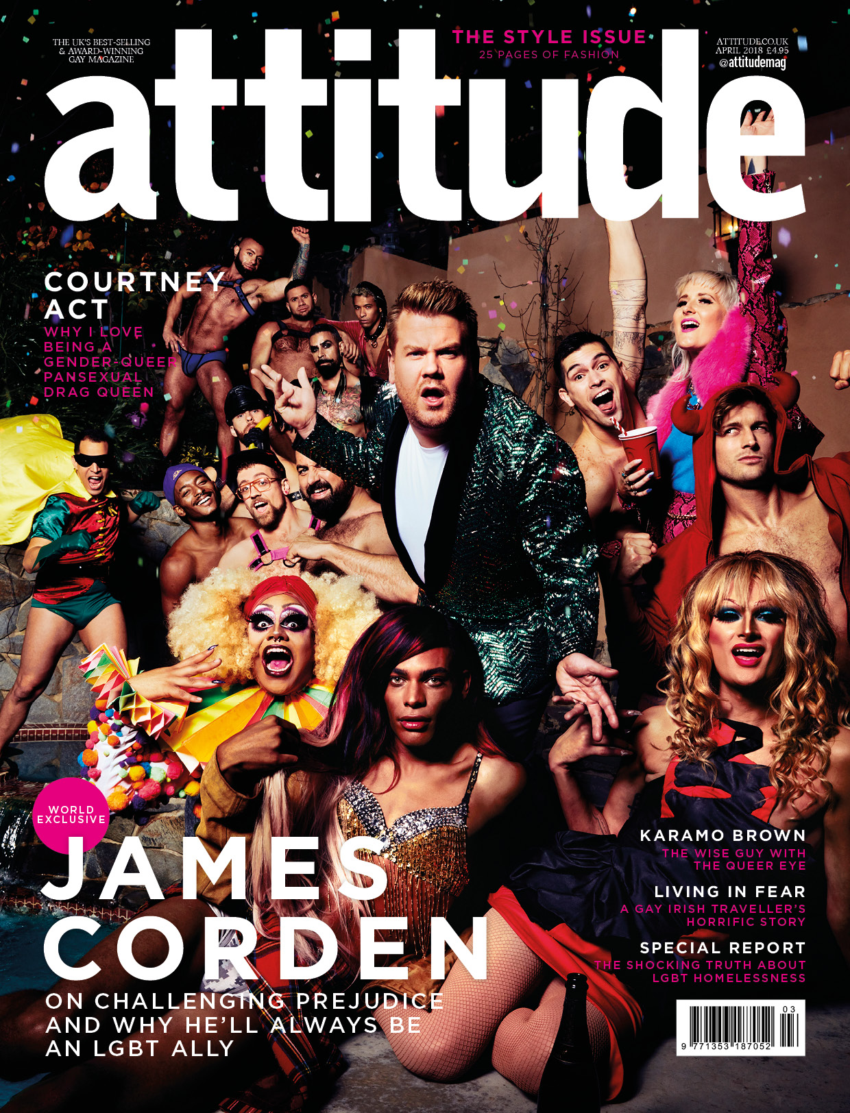Attitude Front cover issue 294