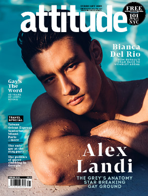 Attitude issue 305 front cover Alex Landi
