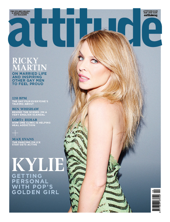 Attitude 295 front cover Kylie