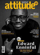 Attitude 300th Issue Edward Enninful cover