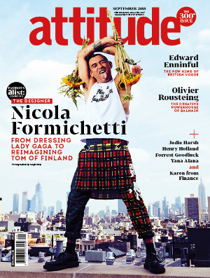 Attitude 300th Issue Nicola Formichetti cover