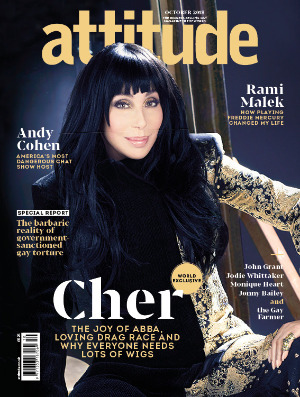 Attitude 301 front cover Cher