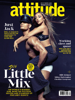attitude issue 303 Cover Jade Thirwall Cover