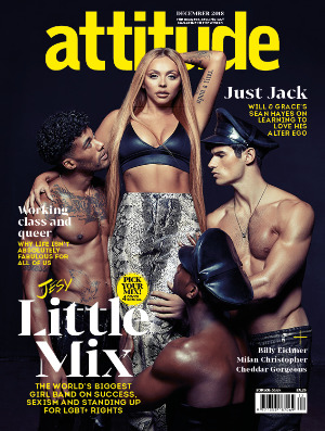 attitude issue 303 Cover Jesy Cover