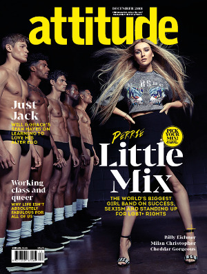 attitude issue 303 Cover Perrie Edwards
