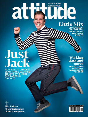attitude issue 303 Cover SeanHayes