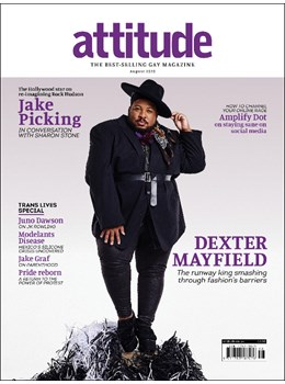 Attitude Issue 325 Dexter Mayfield Cover
