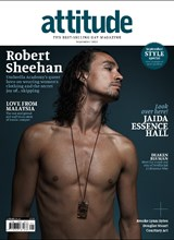 Attitude Issue 326 Cover Robert Sheehan