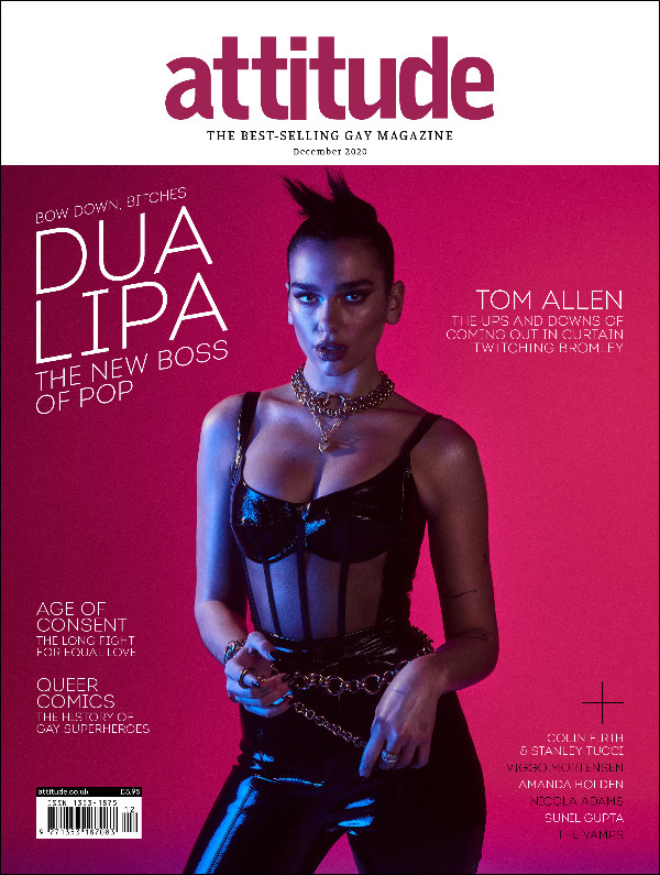 Attitude issue 329 Cover Dua Lipa