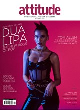 Attitude issue 329 Cover Dua Lipa