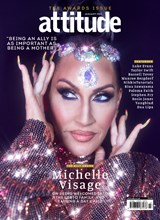 Attitude Issue 330 Michelle Visage front cover
