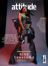 Attitude Issue 330 Rina Sawayama front cover