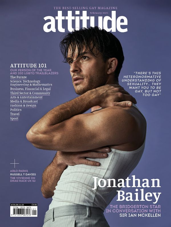 attitude issue 331_Cover_Jonathan Bailey